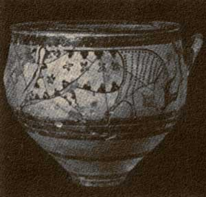 Arte e Simbolo - Arte Cipro-micenea - Enkomi - Vaso - XIV-XIII sec. a.C.