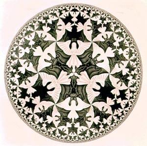 tra simbolo e mito - arte e simbolo - escher - angeli e demoni
