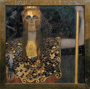 tra simbolo e mito - arte e mitologia - klimt - atena