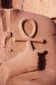 Significato della Croce - Croce Ansata o Ankh - Rilievo Egizio
