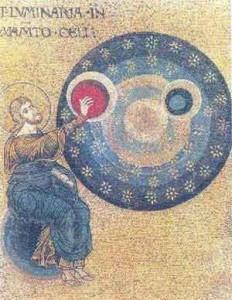 Arte e Simbolo - La creazione degli astri - Duomo di Monreale - 1172-1176
