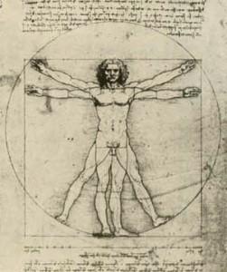 Arte e Simbolo - Leonardo da Vinci - Uomo Vitruviano