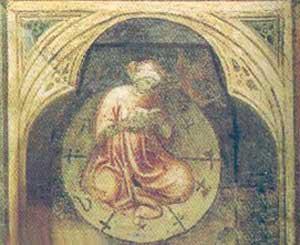 Significato del Cerchio - Rito magico - Palazzo della Ragione - Padova - XIV secolo