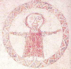 Significato del Cerchio - Orante - Chiesa di San Quirce de Pedret - X secolo