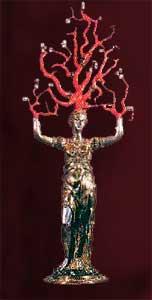 Significato del Corallo - Wentzel Jamnitzer - Dafne - 1550 circa