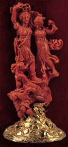 Significato del Corallo - Diana - XVII secolo