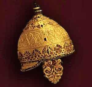 Significato del Corallo - Elmo di Agris - arte celtica