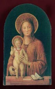 Significato del Corallo - Jacopo Bellini - Madonna col Bambino - metà del XV secolo