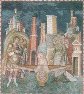 Significato della Croce - Maestro del Sancta sanctorum - Crocefissione di S. Pietro