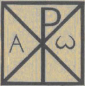 Significato della Croce - Croce con Crisma inscritta nel Quadrato - Epoca Paleocristiana