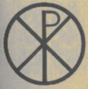Significato della Croce - Croce con Crisma nel Cerchio - Epoca Paleocristiana
