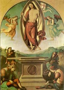 Significato della Croce - Pietro Perugino - Risurrezione