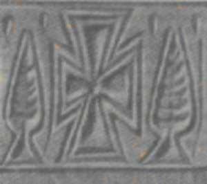 Significato della Croce - Croce di Susa - rilievo del III millennio a.C.
