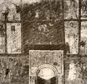 Figure Geometriche - Nicchia della Thorà della Sinagoga di Dura-Europos