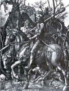 Arte Sacra e Mito - Albrecht Durer - Il Cavaliere, la Morte e il Diavolo