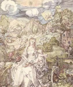Arte e Simbolo - Albrecht Durer - Madonna degli Animali