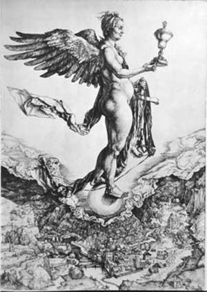 Significato del Simbolo - Albrecht Durer - Nemesi