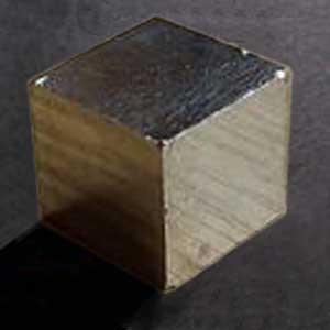 Significato dei Solidi Platonici - Pirite: Esaedro