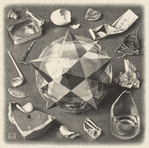Poliedri Regolari e Semiregolari - Escher - Ordine e Caos