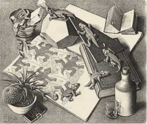Poliedri Regolari e Semiregolari - Escher -Rettili