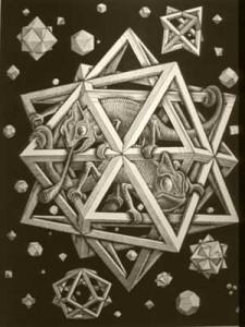 Poliedri Regolari e Semiregolari - Escher - Stelle