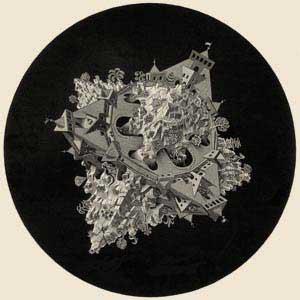 Poliedri Regolari e Semiregolari - Esher - Planetoide Doppio