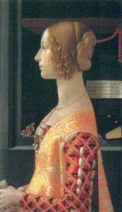 Significato del Corallo - Domenico Ghirlandaio - Ritratto di Giovanna Tornabuoni - 1488