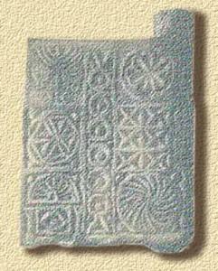 Figure Geometriche - Porta del sepolcro di Kefer Yesef