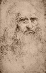 Prima della Storia dell'Arte - Leonardo da Vinci - Autoritratto