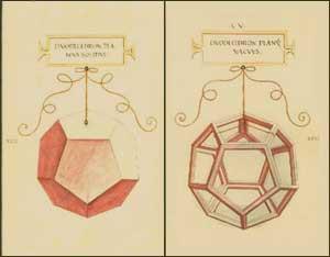 Significato dei Solidi Platonici - Luca Pacioli e Leonardo - De divina proportione - Dodecaedro