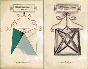 Significato dei Solidi Platonici - Luca Pacioli e Leonardo - De divina proportione - Ottaedro