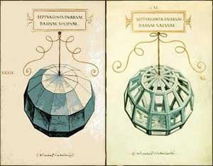Significato dei Solidi Platonici - Luca Pacioli e Leonardo - De divina proportione - Solido CXI o Geode