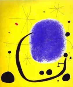 Arte e Simbolo - Joan Mirò - The gold of the azure