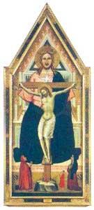 Significato del Triangolo - Niccolò di Pietro Gerini - Trinità - fine XIV secolo