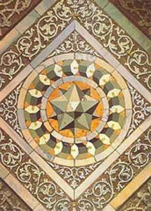 Significato dei Solidi Platonici - Paolo Uccello (attr.) - Piccolo Dodecaedro Stellato - S. Marco - Venezia