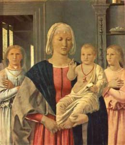 Significato del Corallo - Piero della Francesca - Madonna di Senigallia - 1474 circa