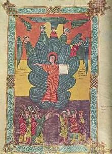 Significato del Quadrato - Il Signore sulla nube - Beatus di Seu de Urgell - Spagna
