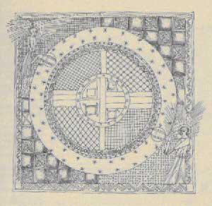 Significato del Quadrato - Il Primo Cielo - Provenza XIV secolo