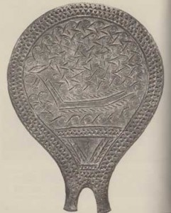 Significato della Spirale - Disco o Specchio ad acqua - Arte Cicladica - Siro - III millennio a.C.