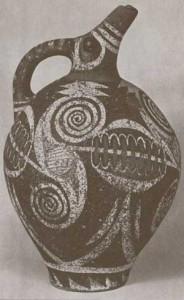 Significato della Spirale - Brocca - Arte Minoica - Festo - 1800 .ca a.C.