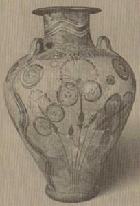 Significato della Spirale - Anfora - Arte Minoica - Cnosso - 1450 .ca a.C.