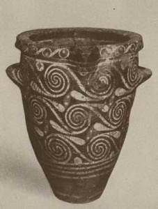 Significato della Spirale - Pithos - Arte Minoica - Festo - 1800 .ca a.C.