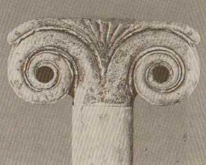 Significato della Spirale - Capitello Eolico - Neandria - 580-570 .ca a.C.