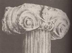 Significato della Spirale - Capitello ionico - Tempio di Kavalla - fine VI - inizio V sec. a.C.