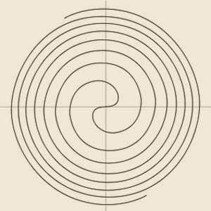 Spirale Parabolica o di Fermat