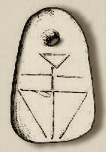 Significato del Triangolo - Peso da telaio -Karanovo - Gumelnita - V millennio a.C.