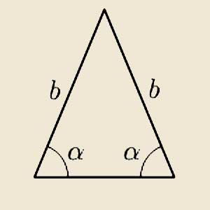 Significato del Triangolo - Triangolo Isoscele