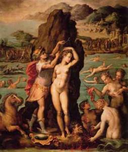 Significato del Corallo: Il Mito - Giorgio Vasari - Perseo e Andromeda