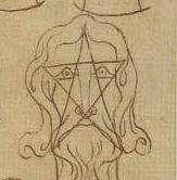 Significato del Pentagono e del Pentagramma – Villard de Honnecourt – Livre de portraiture – XIII sec.