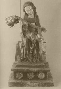 Significato del Pentagono e del Pentagramma - Pietà Roettgen - Arte Tedesca - 1300-1305